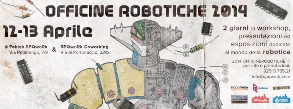 Officine Robotiche 2014