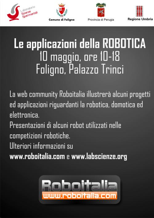 Giornata della Robotica a Foligno